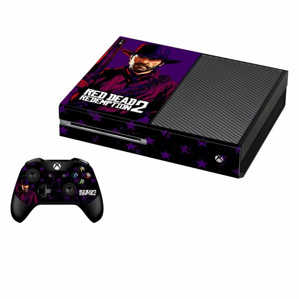 برچسب ایکس باکس وان فت پلی اینفینی مدل Red Dead Redemption 2 01 به همراه برچسب دسته