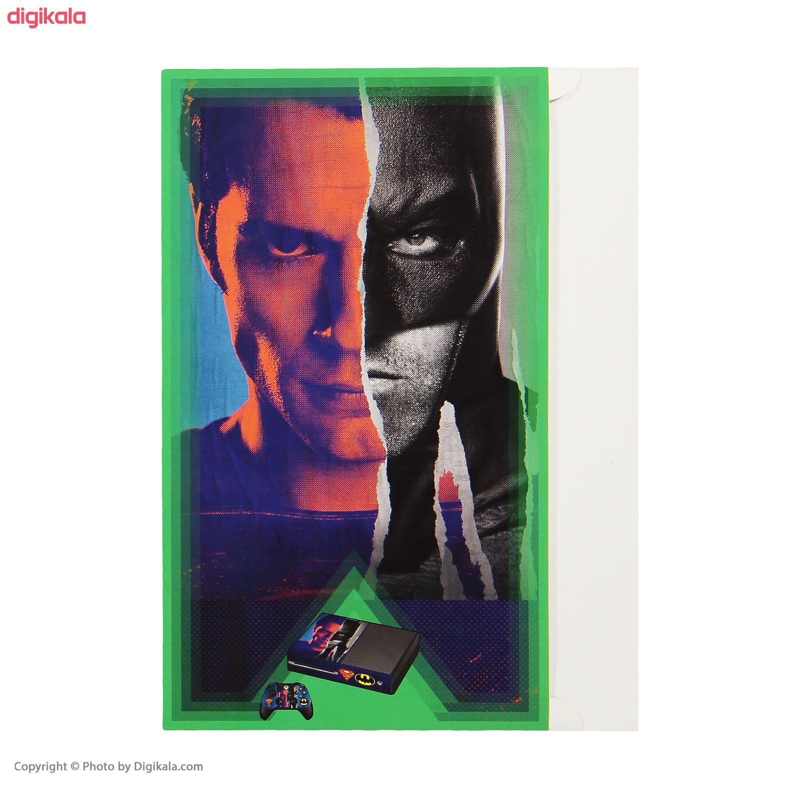 برچسب ایکس باکس وان پلی اینفینی مدل Batman v Superman