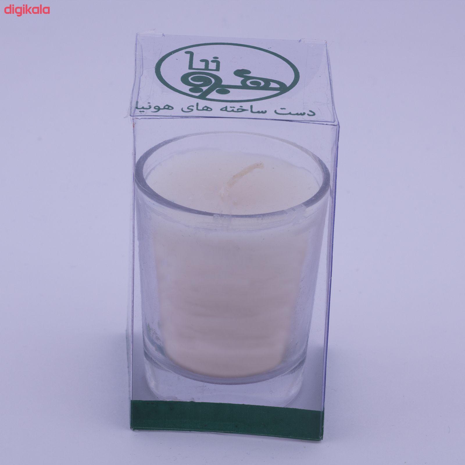 شمع لیوانی هونیا مدل ۱۰۱ main 1 1