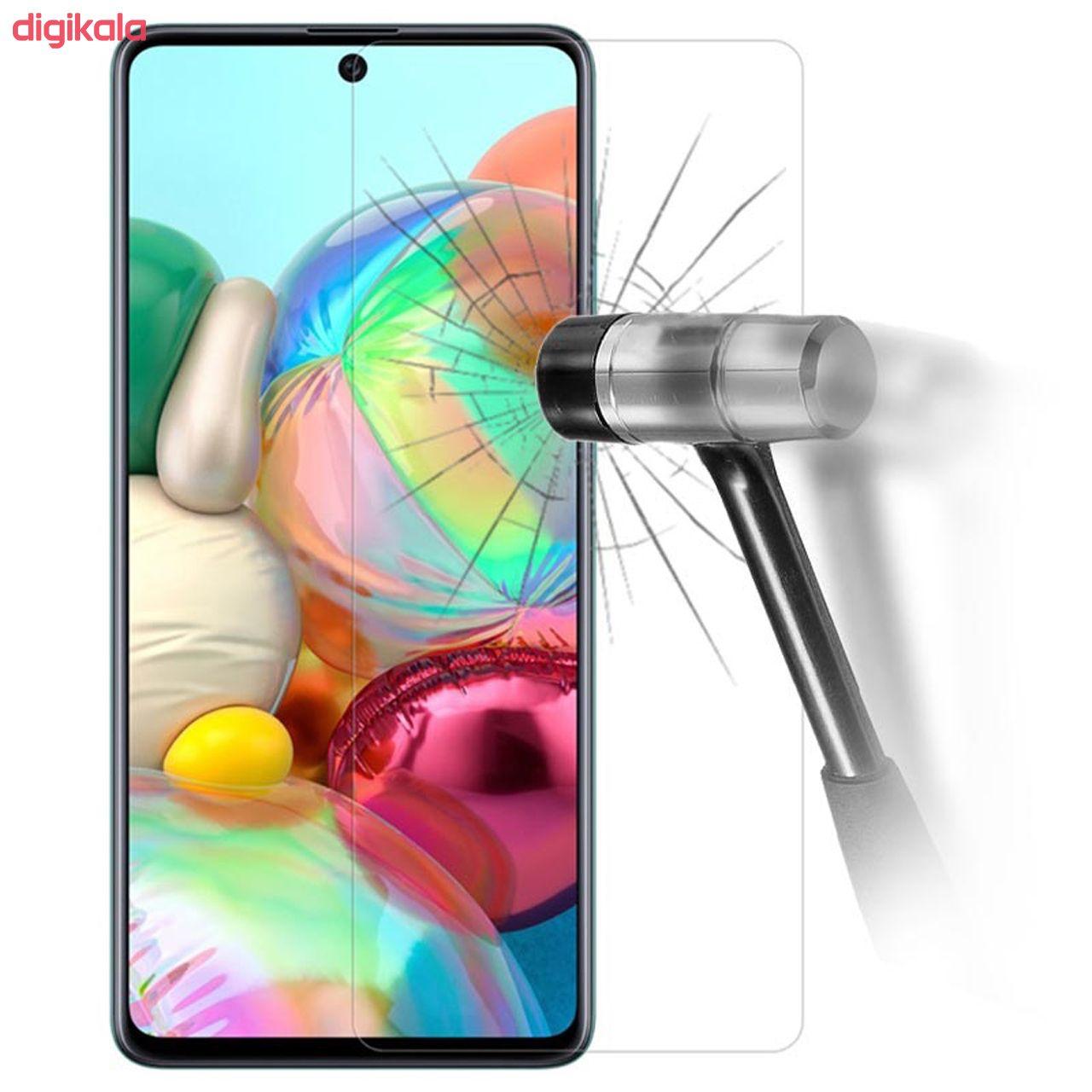 محافظ صفحه نمایش سیحان مدل CLT مناسب برای گوشی موبایل سامسونگ Galaxy A71 main 1 2
