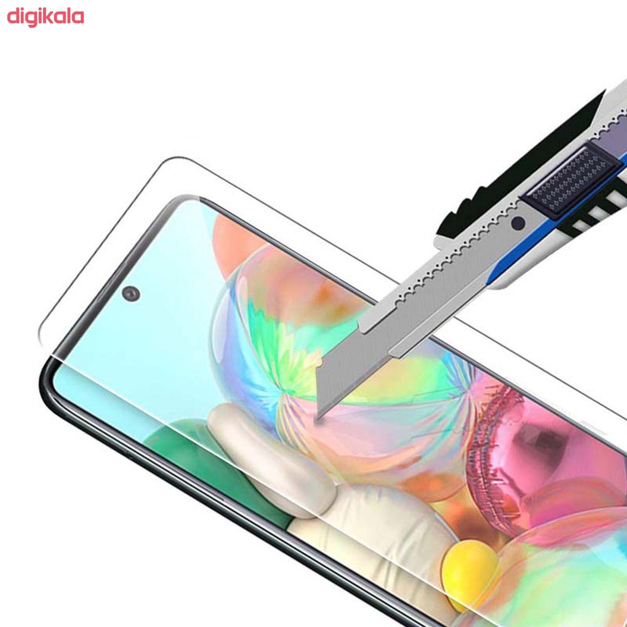 محافظ صفحه نمایش سیحان مدل CLT مناسب برای گوشی موبایل سامسونگ Galaxy A71 main 1 3