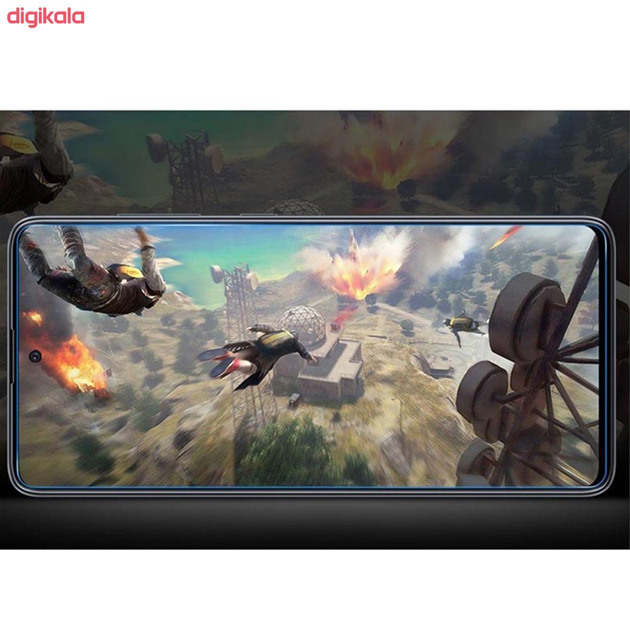محافظ صفحه نمایش سیحان مدل CLT مناسب برای گوشی موبایل سامسونگ Galaxy A71 main 1 4