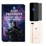 محافظ صفحه نمایش حریم شخصی و پشت گوشی زیرو مدل PRZ-01 مناسب برای گوشی موبایل اپل Iphone 8 plus