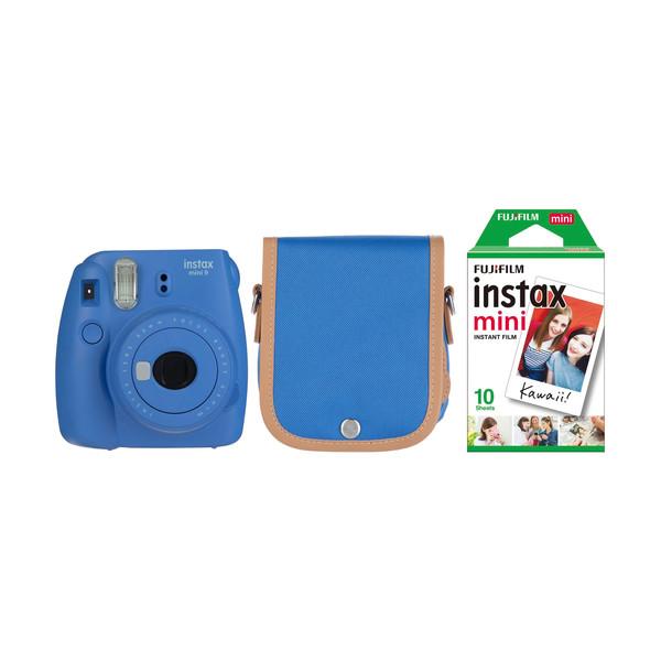 دوربین عکاسی چاپ سریع فوجی فیلم مدل Instax Mini 9 به همراه کیف و فیلم مخصوص