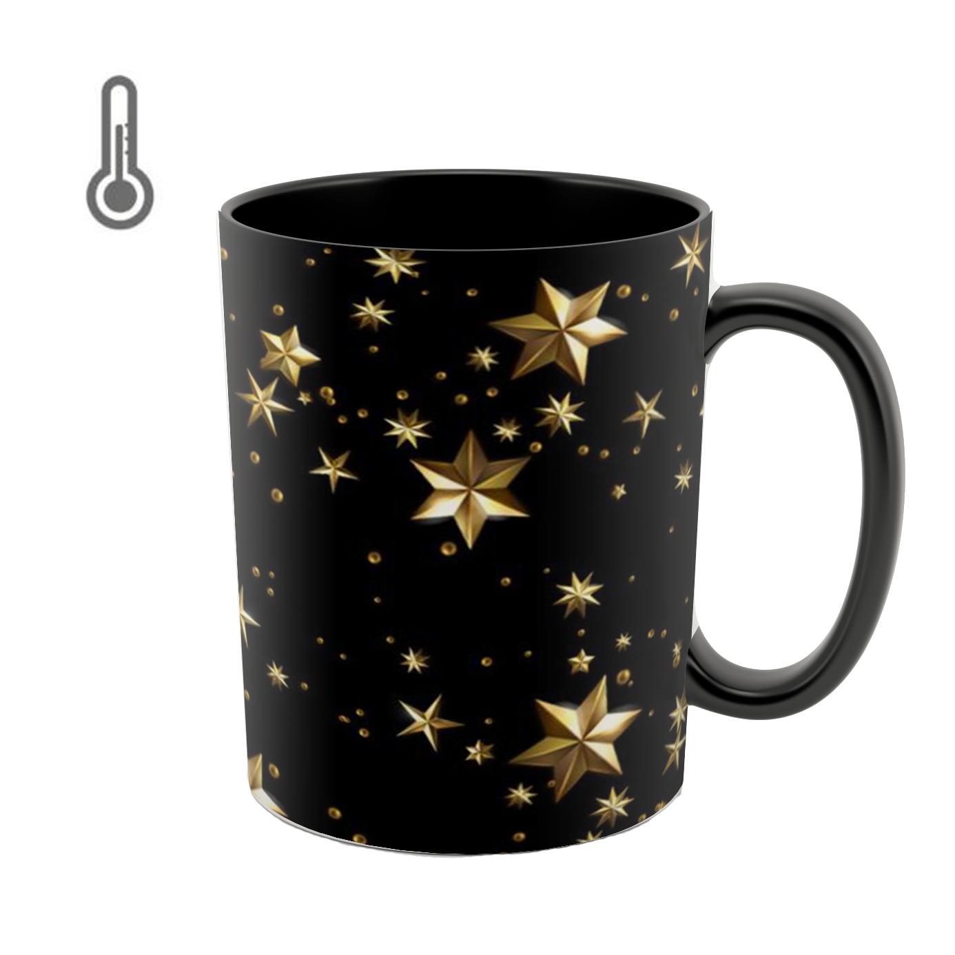 عکس ماگ حرارتی طرح ستاره