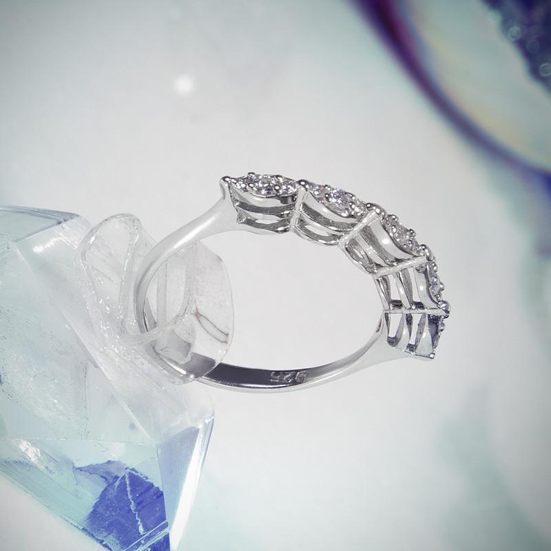 انگشتر نقره زنانه  کد AWR_061