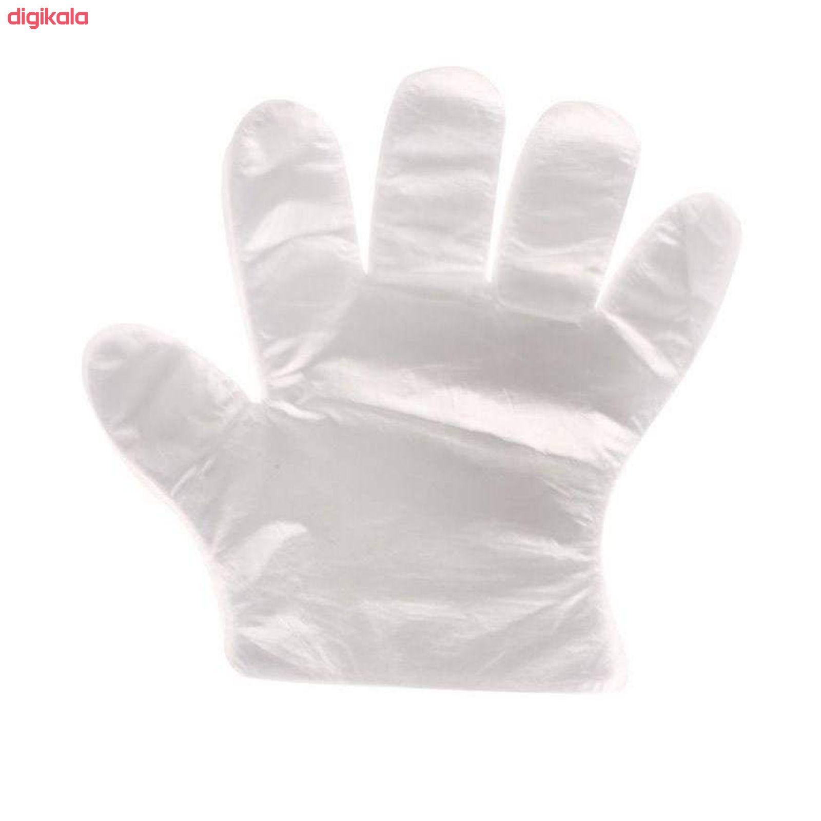 دستکش یکبار مصرف مهرگان مدل MG-100 بسته 100 عددی main 1 1