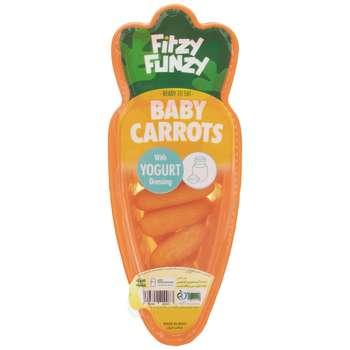 بچه هویج فیتزی فانزی با سس ماست  - 70 گرم