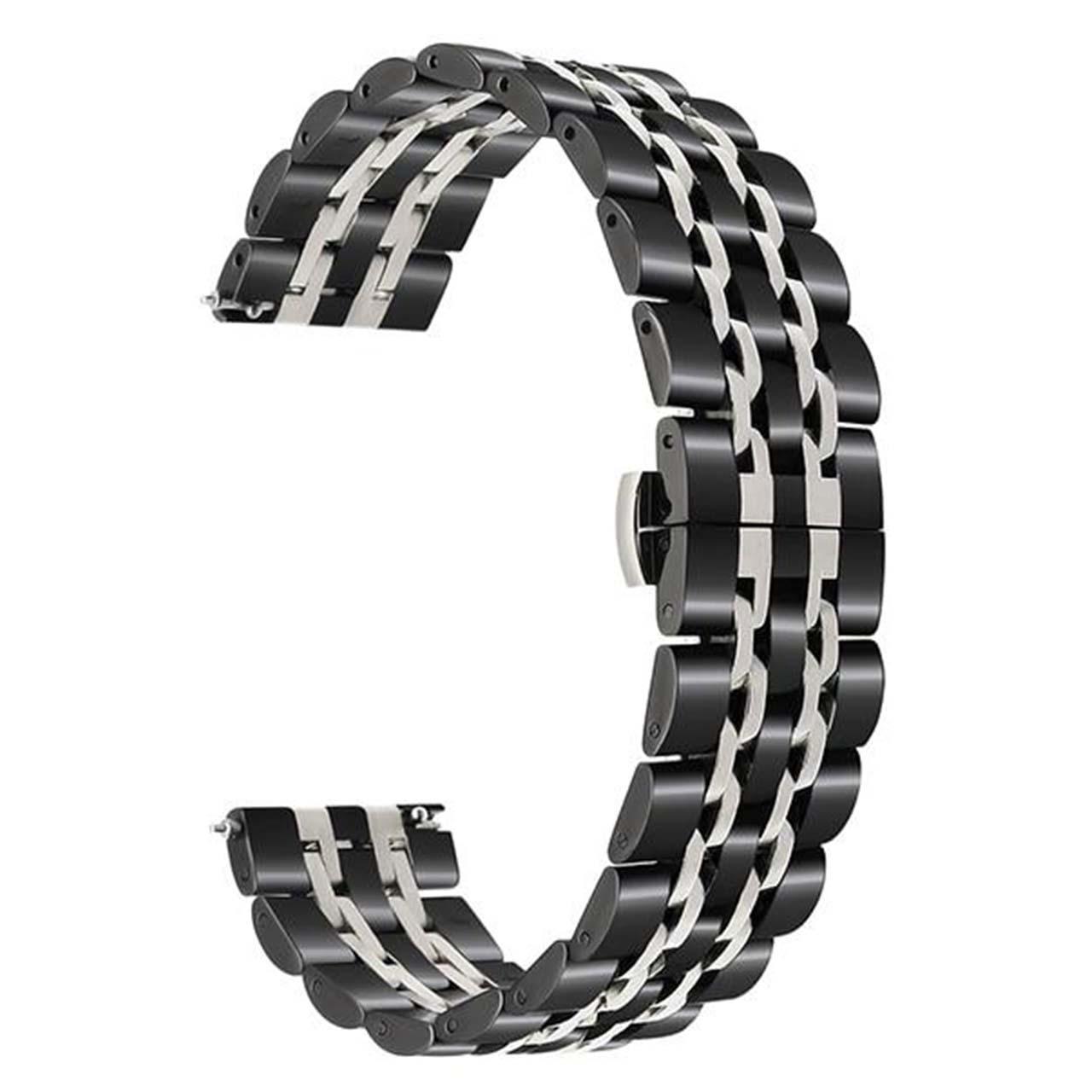 بند مدل Seven Bead-0022 مناسب برای ساعت هوشمند سامسونگ Gear S3 Frontier