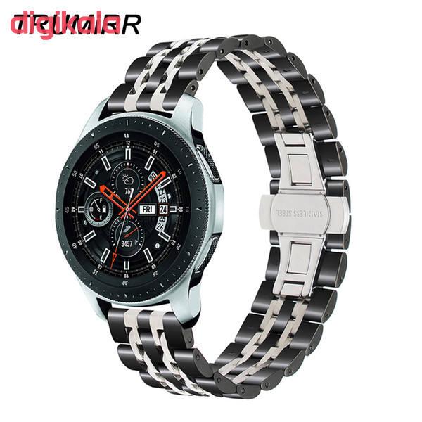بند مدل Seven Bead-0022 مناسب برای ساعت هوشمند سامسونگ Gear S3 Frontier main 1 3