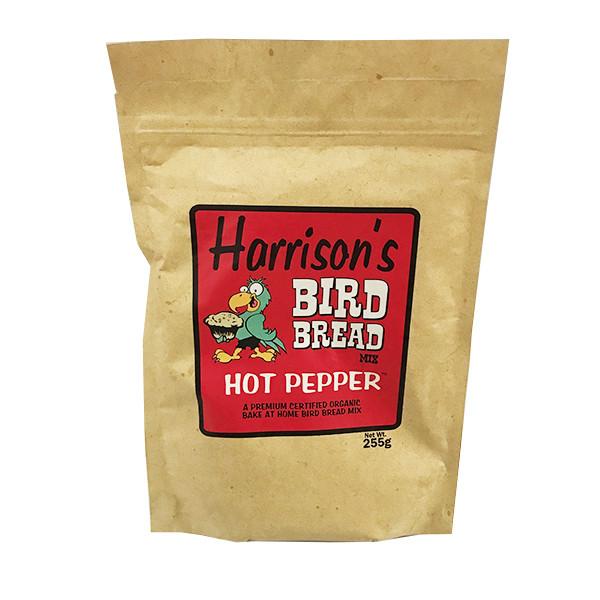 غذا خشک پرنده هریسون مدل نان مخصوص فلفلی وزن 255 گرم