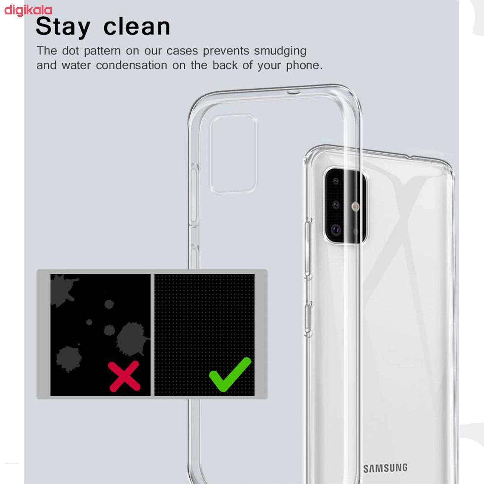 کاور مانوس مدل TP-A1 مناسب برای گوشی موبایل سامسونگ Galaxy A51