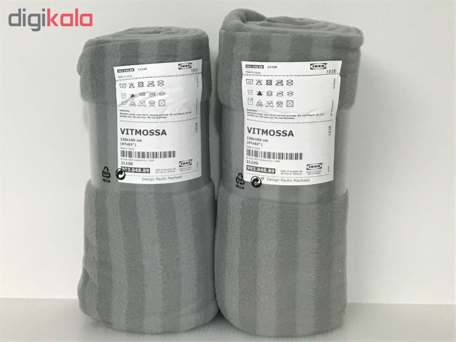 پتو مسافرتی ایکیا مدل VITMOSSA سایز 120×160 سانتیمتر main 1 7
