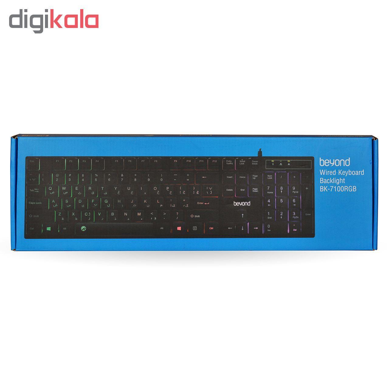کیبورد بیاند مدل BK-7100 RGB main 1 7