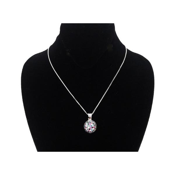 گردنبند نقره زنانه طرح درین کد 029