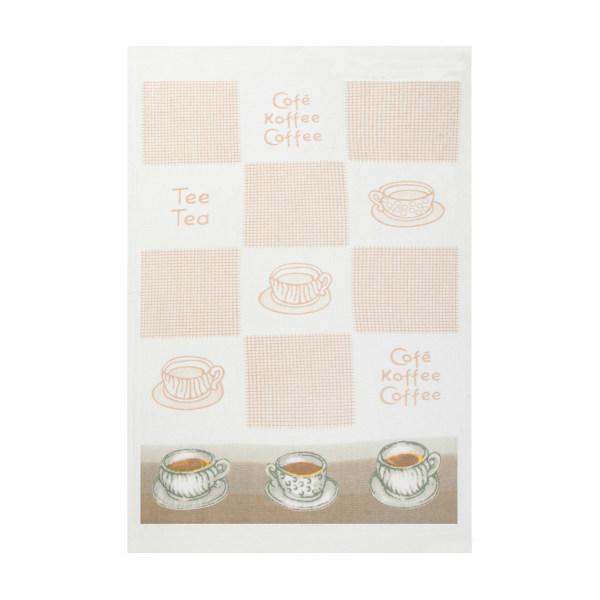 حوله آشپزخانه آکیپک مدل Tea Coffee سایز 30x50 سانتیمتر