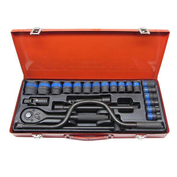 مجموعه 24 عددی آچار بکس تی اف تولز مدل T24