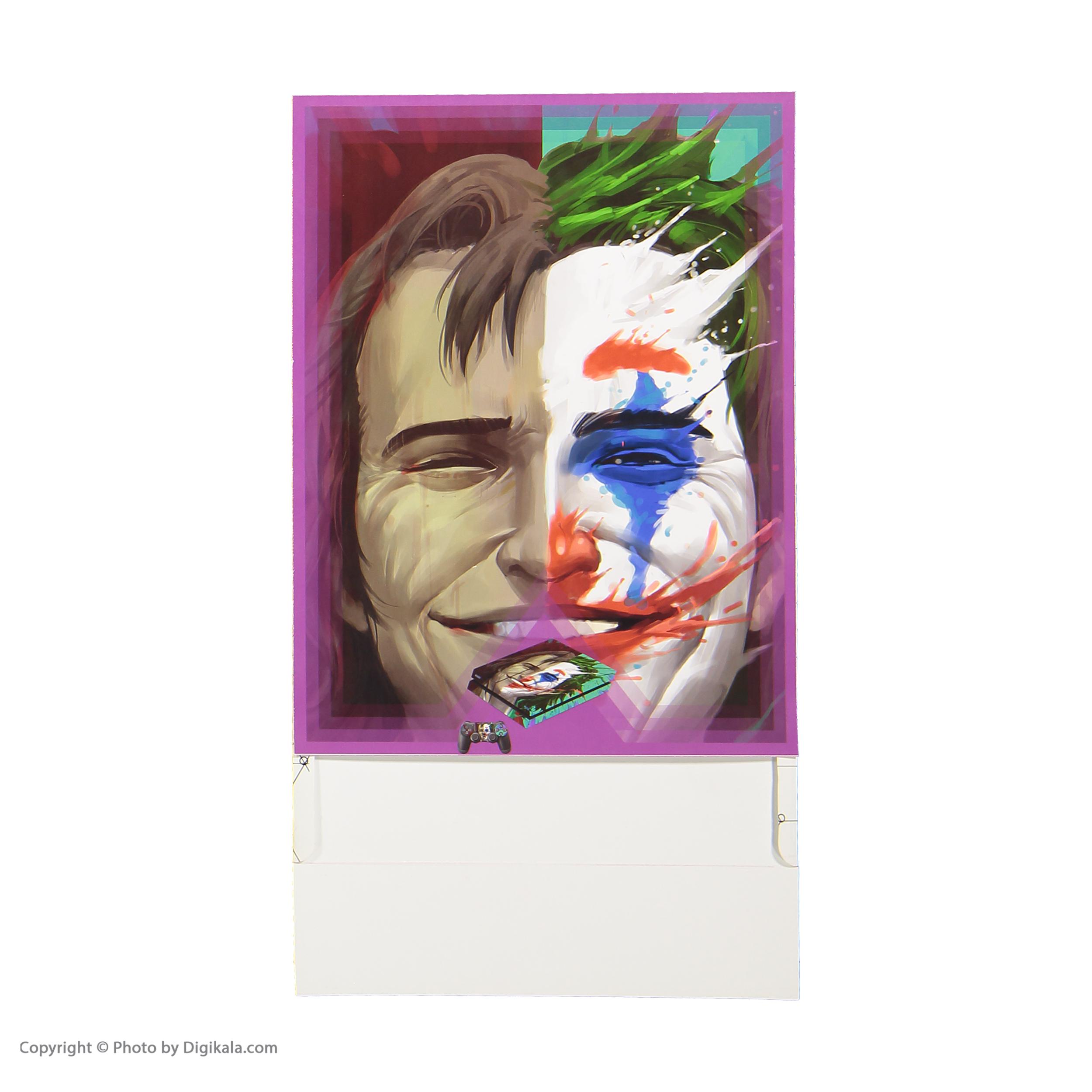 خرید اینترنتی برچسب پلی استیشن 4 پلی اینفینی مدل Joker 05 اورجینال