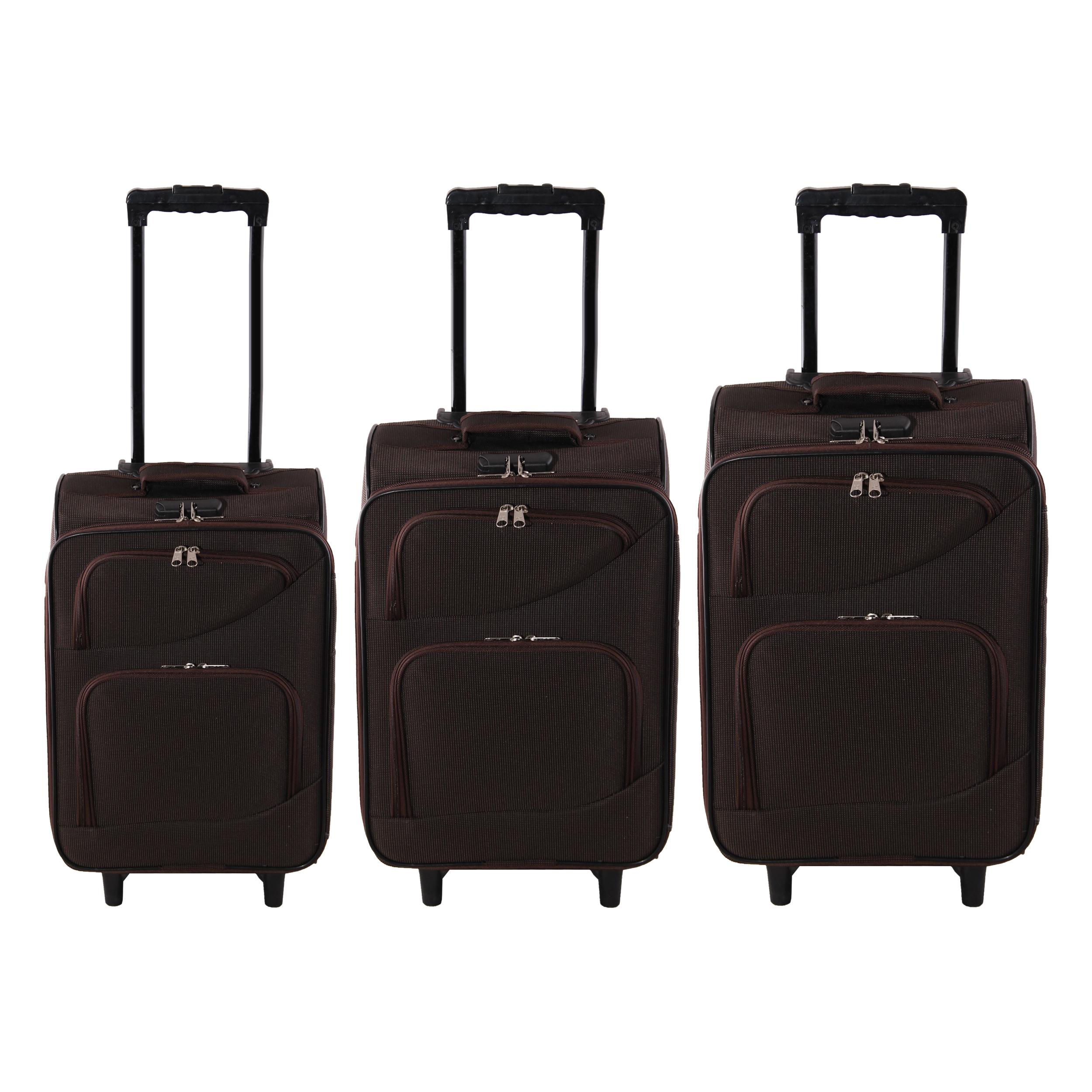 مجموعه سه عددی چمدان مدل A1023
