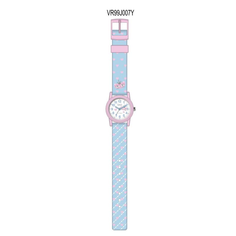 ساعت مچی عقربه ای دخترانه کیو اند کیو مدل VR99J007Y