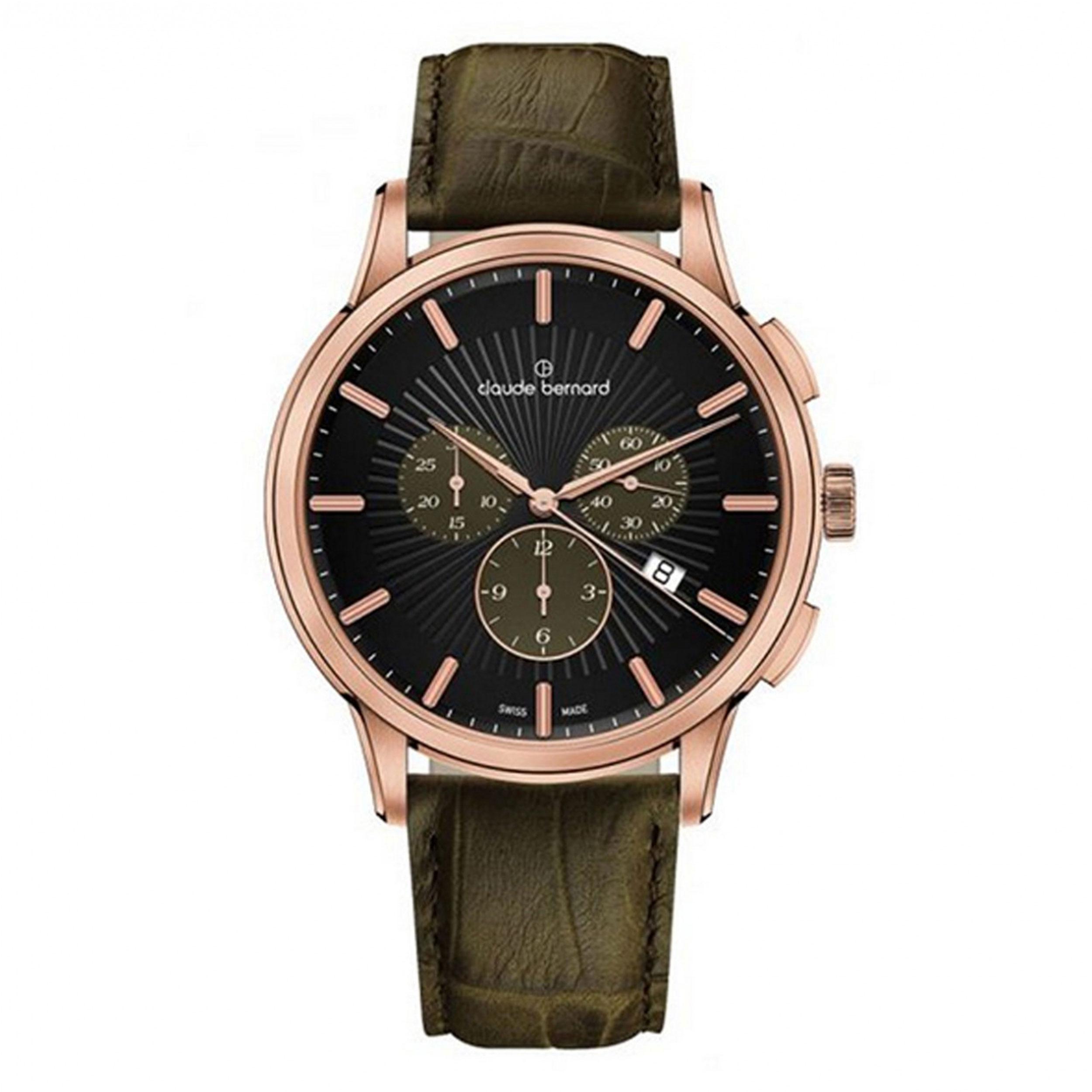 ساعت مچی عقربه ای مردانه کلود برنارد مدل 10237-37R-NIKAR