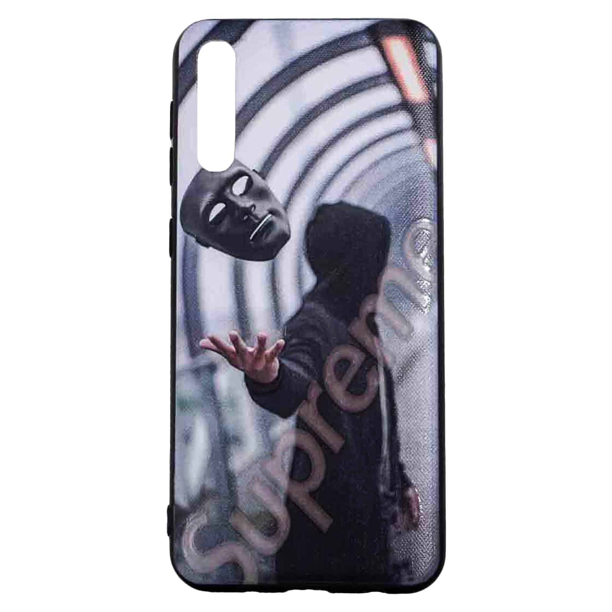 کاور مدل BK طرح نقاب مناسب برای گوشی موبایل سامسونگ Galaxy A50/A50S/A30S