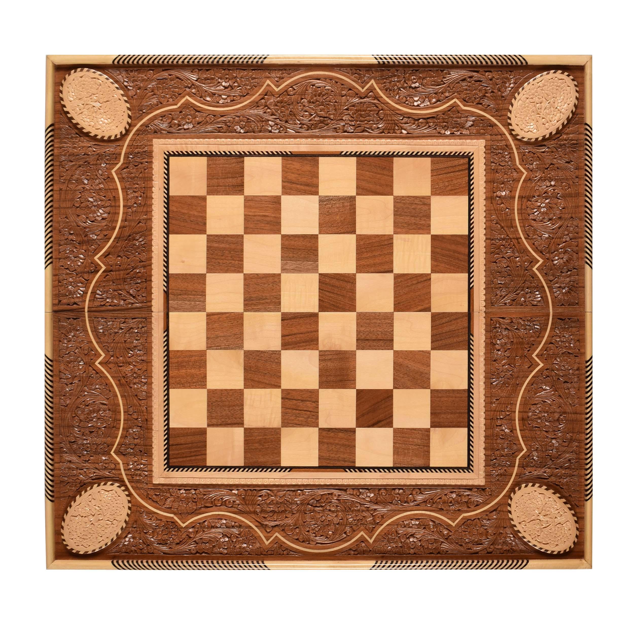 صفحه شطرنج منبت کاری مدل TD50