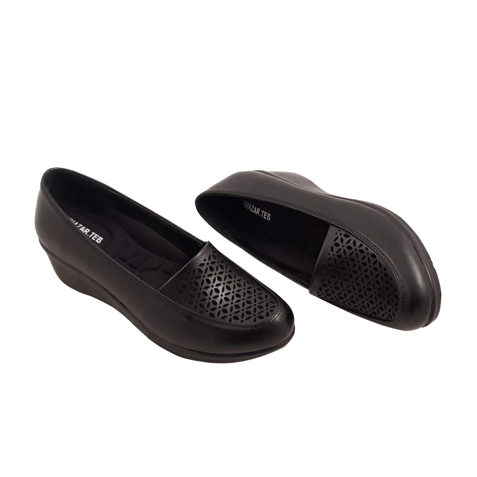 کفش روزمره زنانه خزر طب کد 409 main 1 1