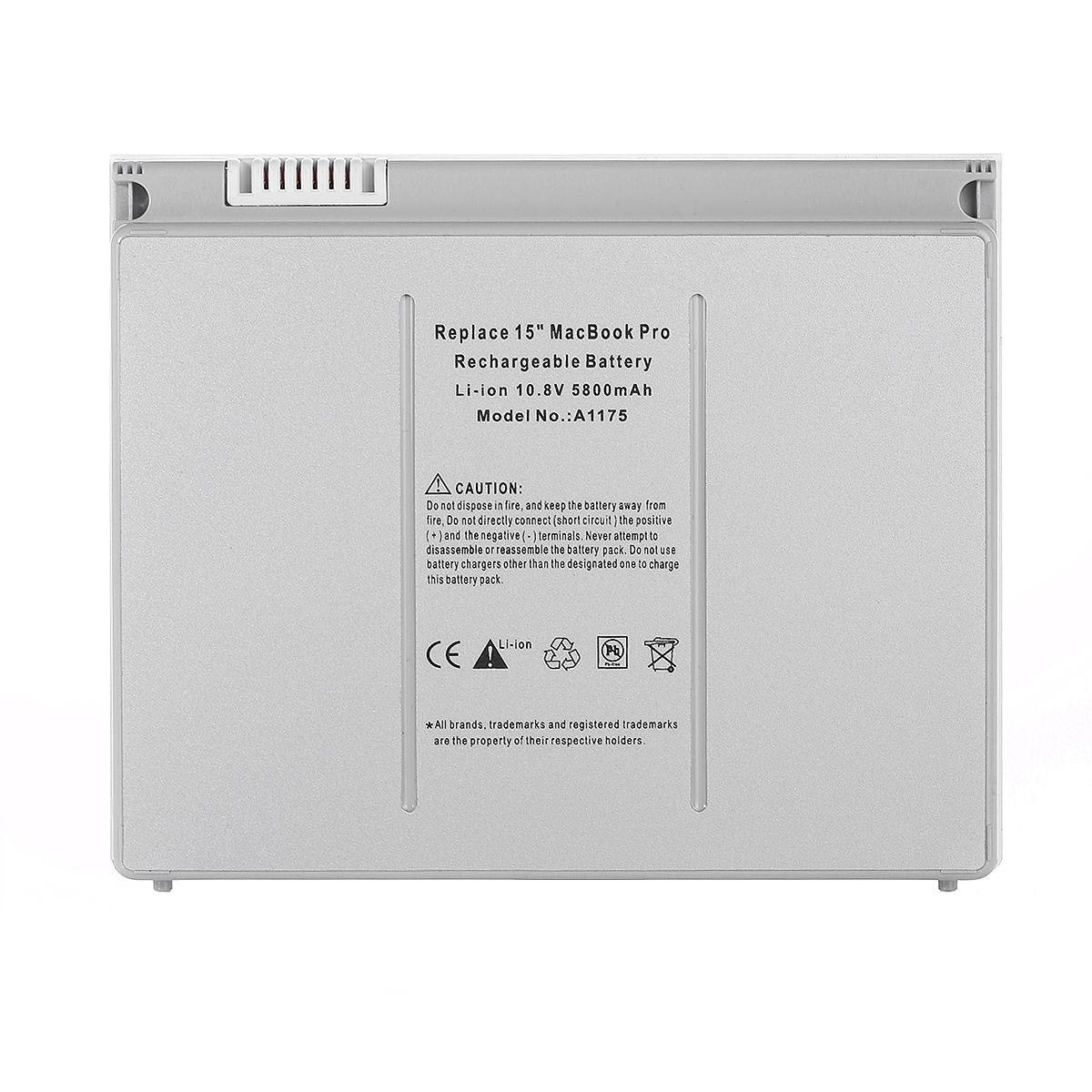 باتری لپ تاپ 2 سلولی مدل A1175 مناسب برای لپ تاپ اپل MacBook A1150