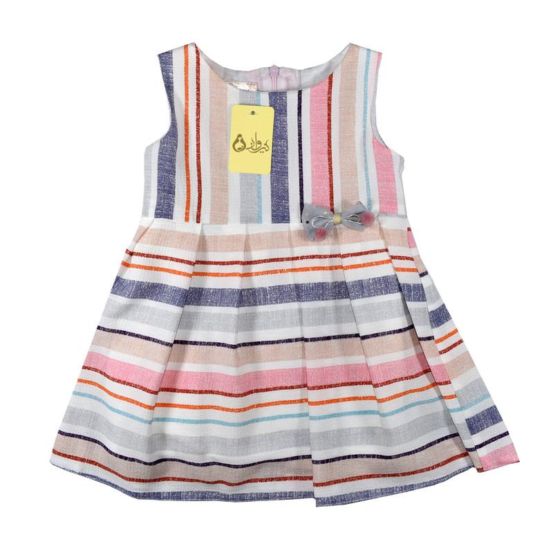 پیراهن دخترانه نیروان کد 1048-1