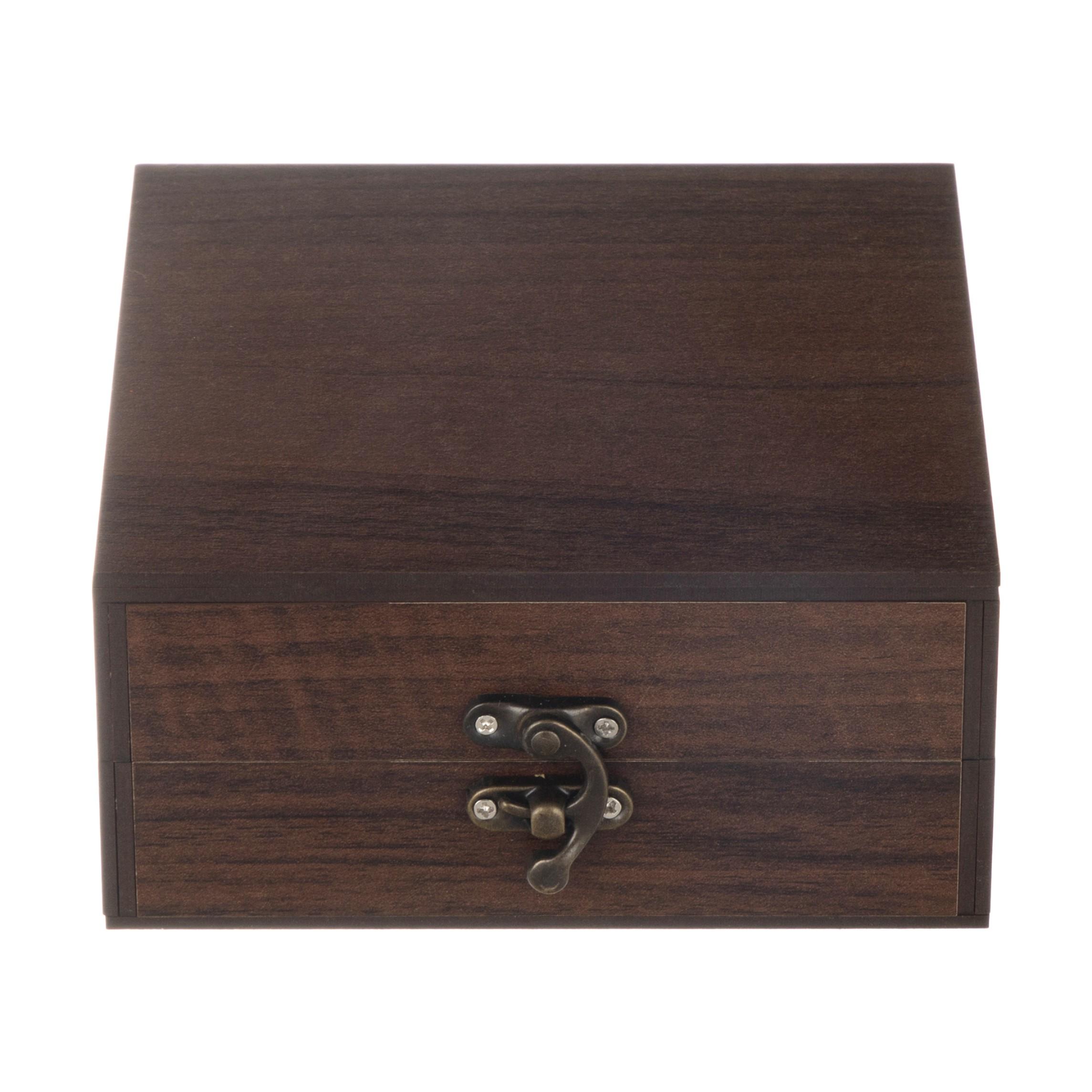 خرید                      جعبه هدیه چوبی مدل 05