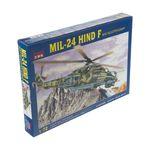 ساختنی کیتک طرح هلی کوپتر جنگنده مدل MIL-24 HIND F کد 3027