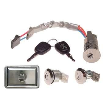 قفل و سوییچ و استارت ان ال سی مدل PGFS6 مناسب برای پژو 405 بسته 6 عددی