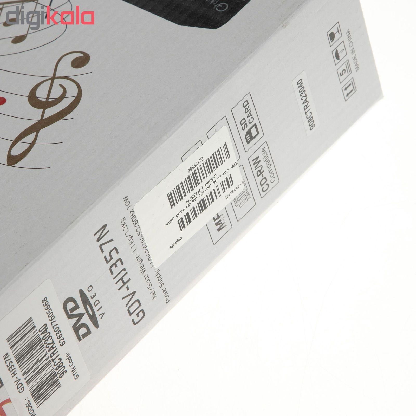 پخش کننده دی وی دی جی پلاس مدل GDV-HJ357N main 1 13