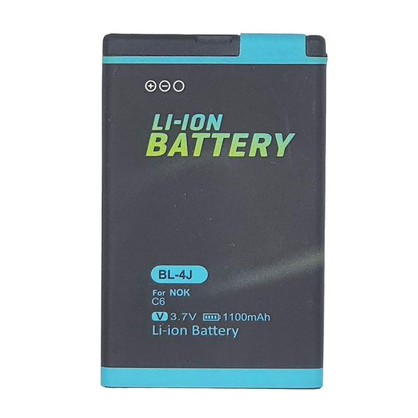 باتری موبایل مدل C6 ظرفیت 1100 میلی آمپر ساعت مناسب برای گوشی موبایل نوکیا 600