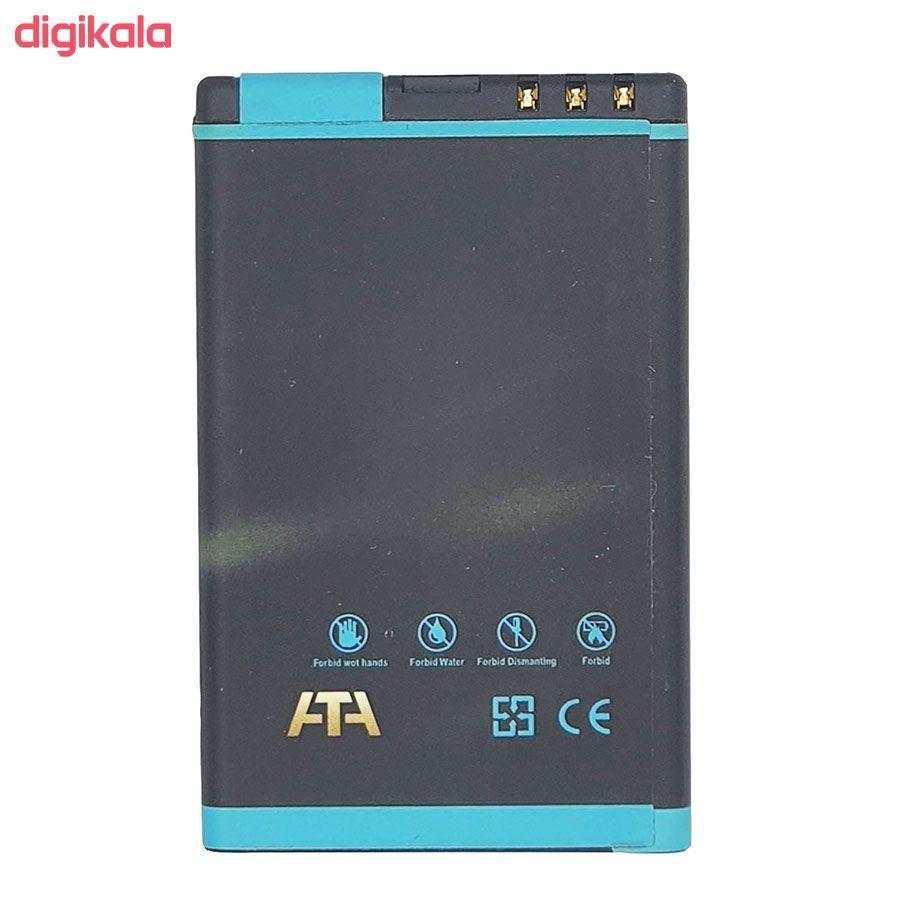 باتری موبایل مدل C6 ظرفیت 1100 میلی آمپر ساعت مناسب برای گوشی موبایل نوکیا 600 main 1 1