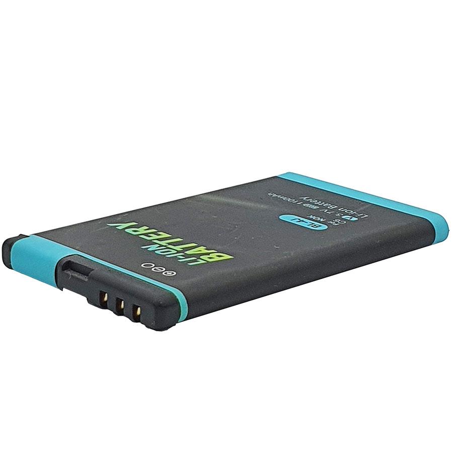 باتری موبایل مدل C6 ظرفیت 1100 میلی آمپر ساعت مناسب برای گوشی موبایل نوکیا 600 main 1 2