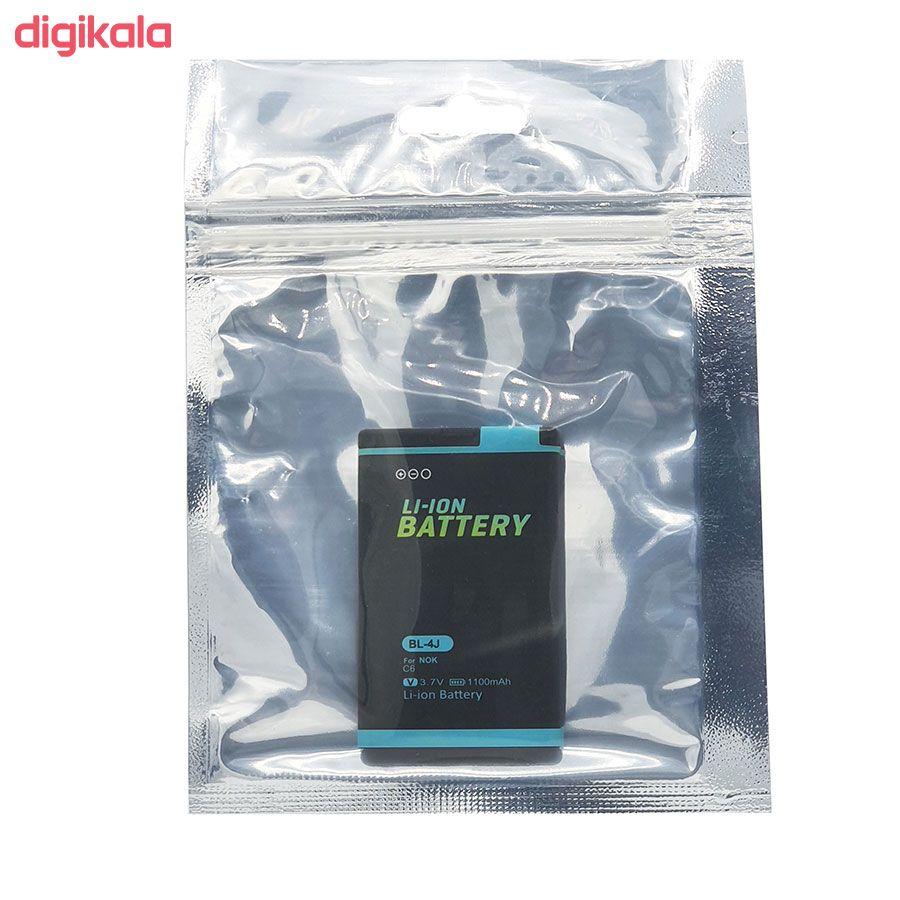 باتری موبایل مدل C6 ظرفیت 1100 میلی آمپر ساعت مناسب برای گوشی موبایل نوکیا 600 main 1 3