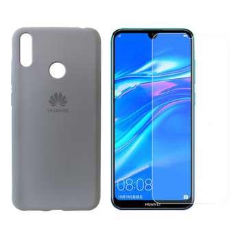 کاور مدل sl050 مناسب برای گوشی موبایل هوآوی Y7 PRIME 2019  به همراه محافظ صفحه نمایش