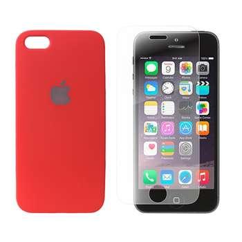 کاور مدل SL053 مناسب برای گوشی موبایل اپل Iphone 5/5S/SE به همراه محافظ صفحه نمایش