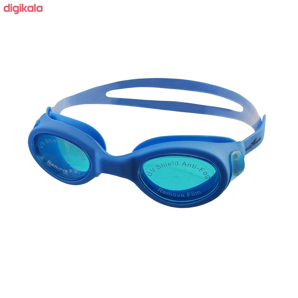 عینک شنا فری شارک مدل YG-502 main 1 1