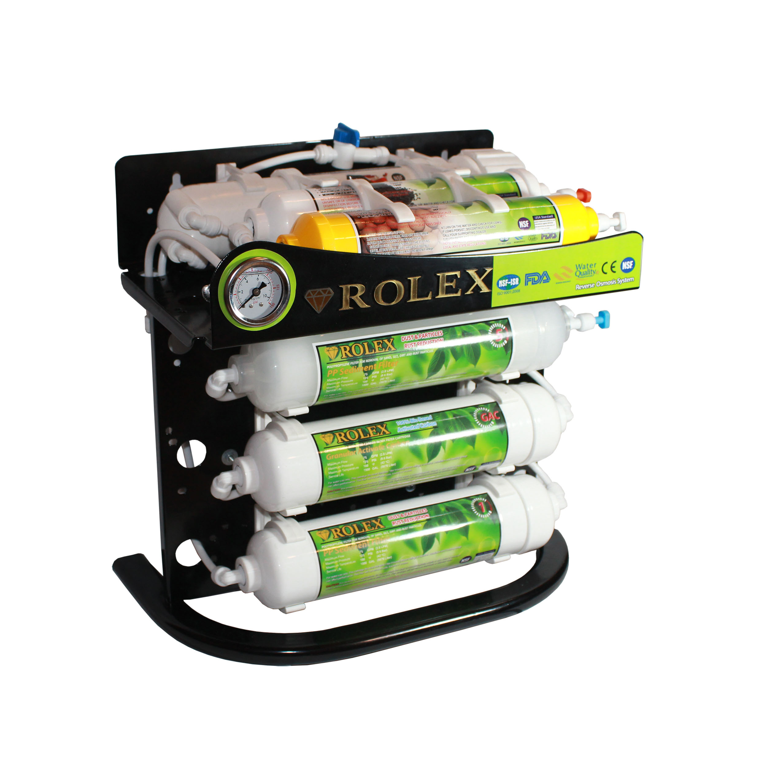 دستگاه تصفیه کننده آب خانگی رولکس مدل RO-B6