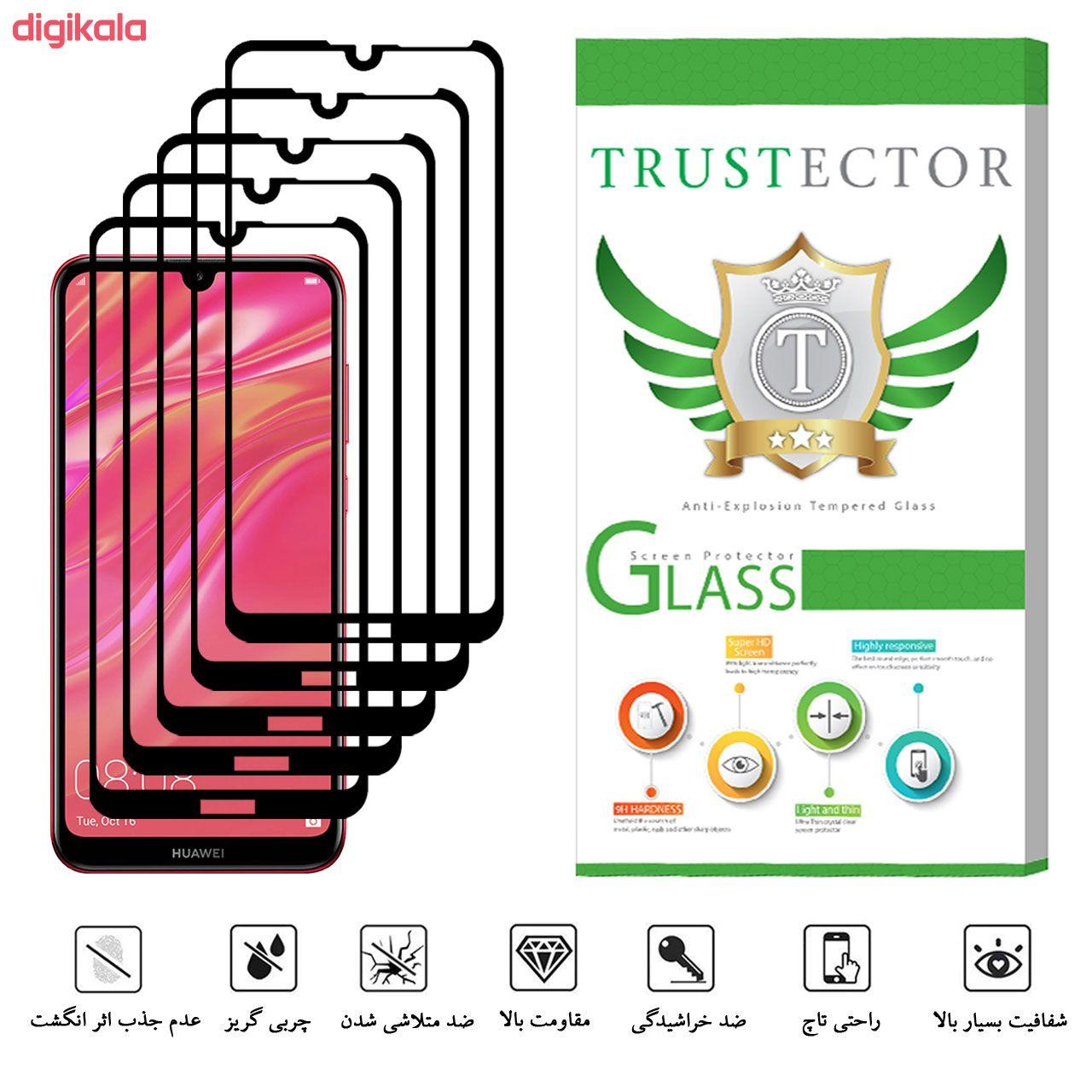 محافظ صفحه نمایش تراستکتور مدل GSS مناسب برای گوشی موبایل هوآوی Y7 Prime 2019 بسته 5 عددی main 1 4