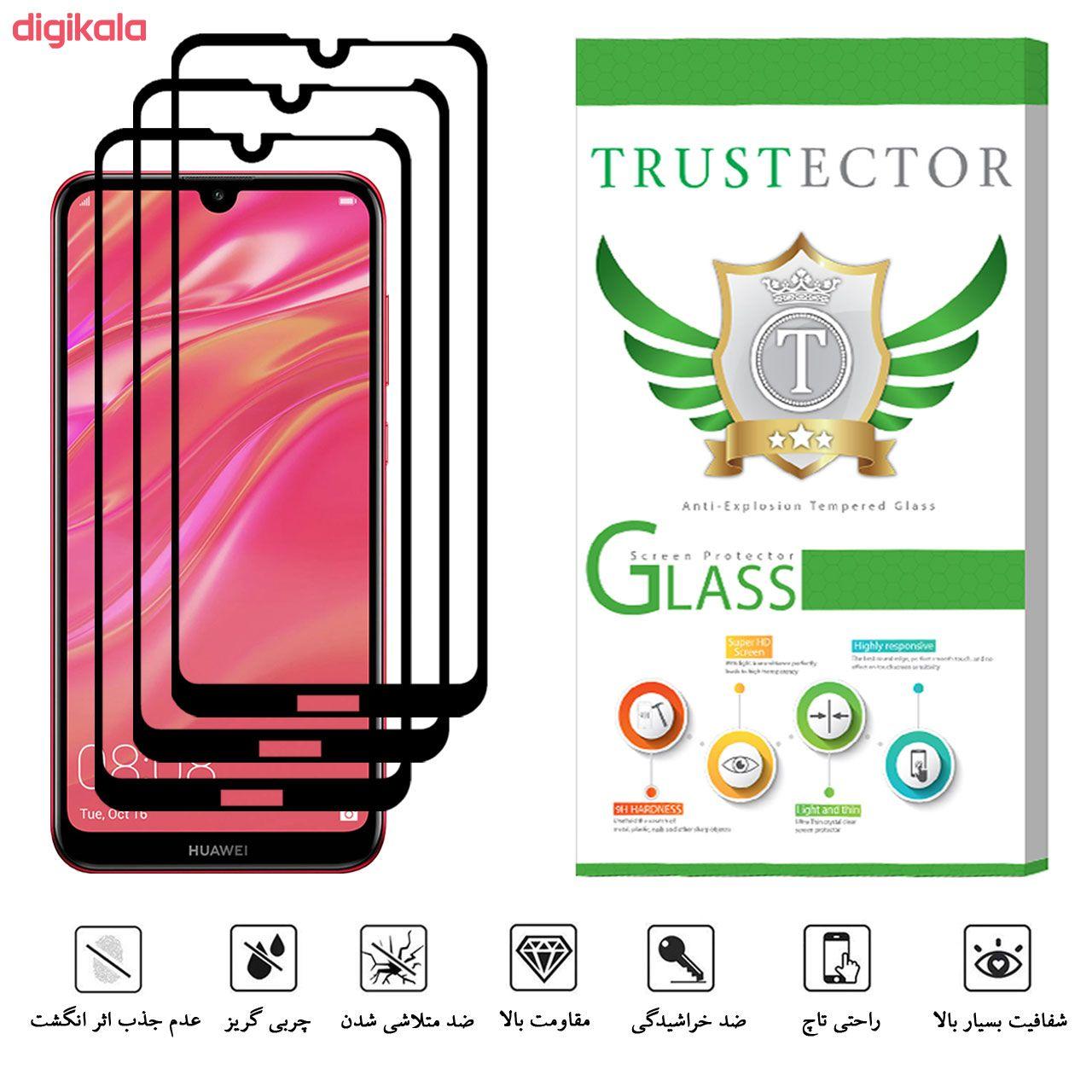 محافظ صفحه نمایش تراستکتور مدل GSS مناسب برای گوشی موبایل هوآوی Y7 Prime 2019 بسته 3 عددی main 1 4