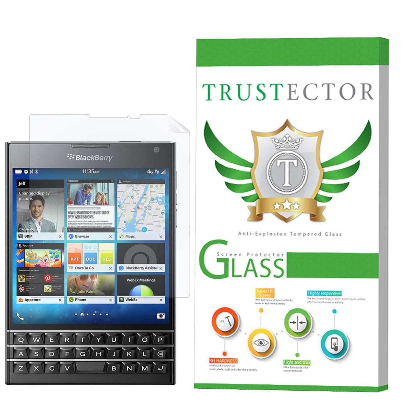 محافظ صفحه نمایش تراستکتور مدل GNF مناسب برای گوشی موبایل بلک بری Passport