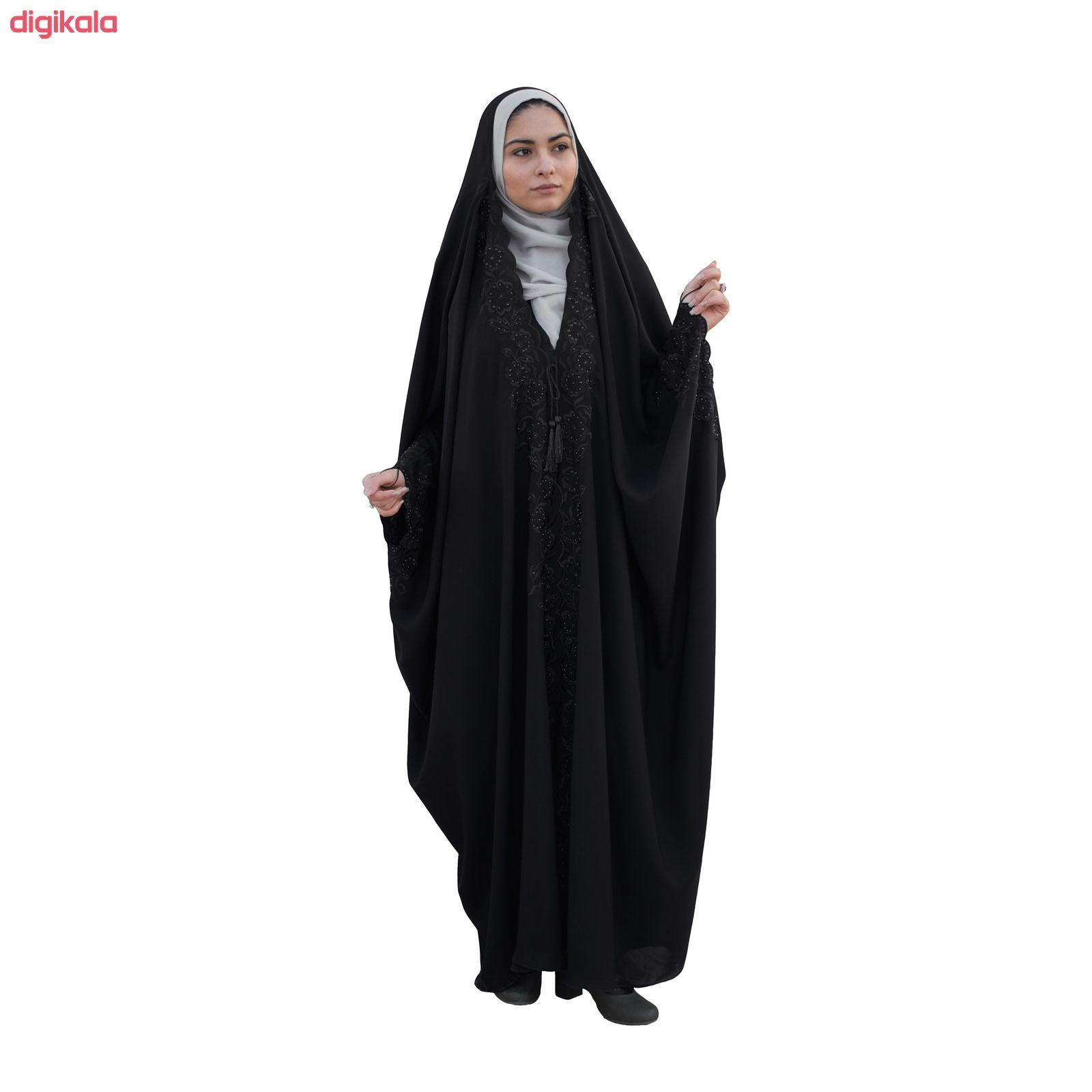 چادر حجاب فاطمی مدل سما کد Kan 1049 main 1 7