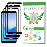 محافظ صفحه نمایش تراستکتور مدل GSS مناسب برای گوشی موبایل هوآوی Y7 Prime 2018 / آنر 7C بسته 3 عددی thumb