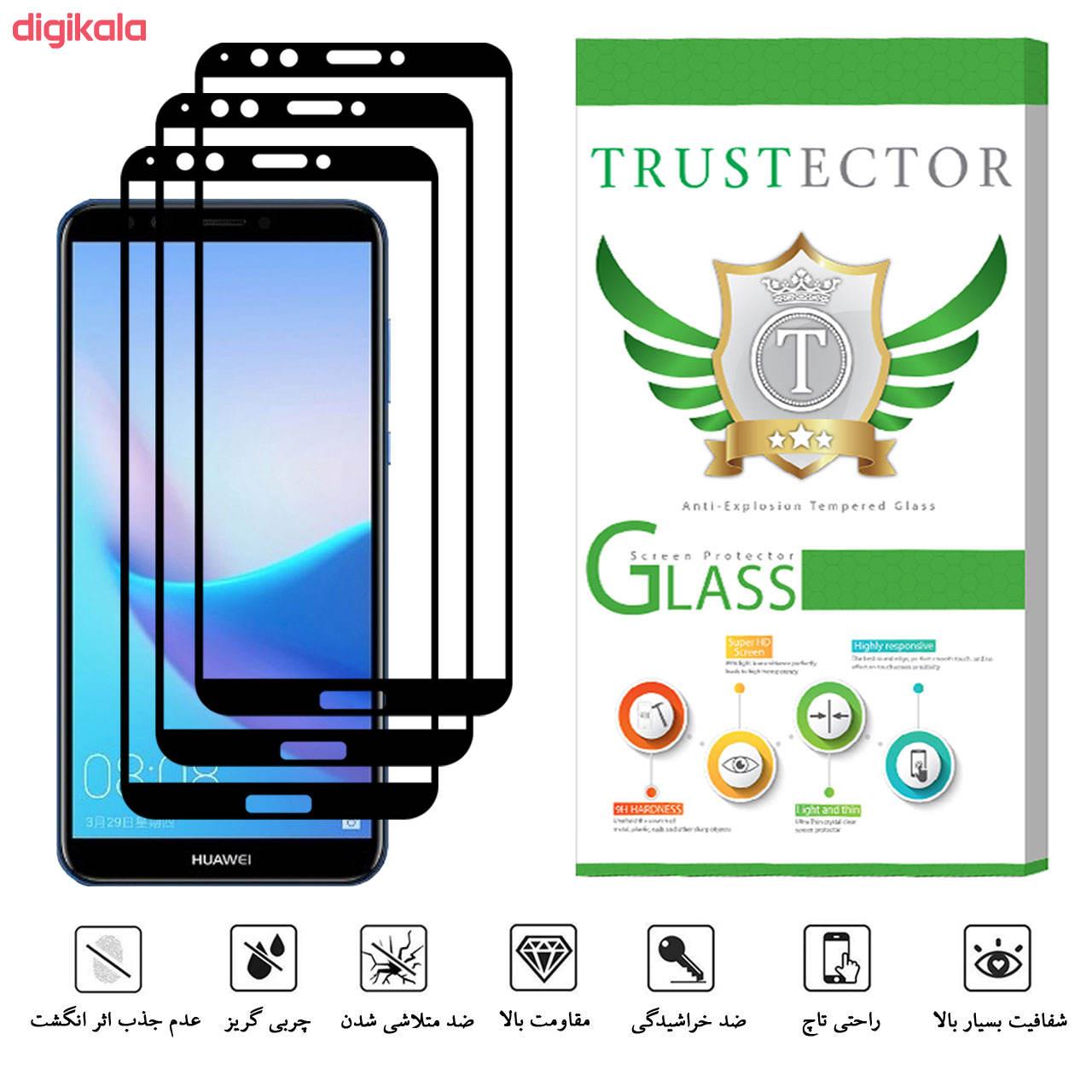محافظ صفحه نمایش تراستکتور مدل GSS مناسب برای گوشی موبایل هوآوی Y7 Prime 2018 / آنر 7C بسته 3 عددی main 1 7