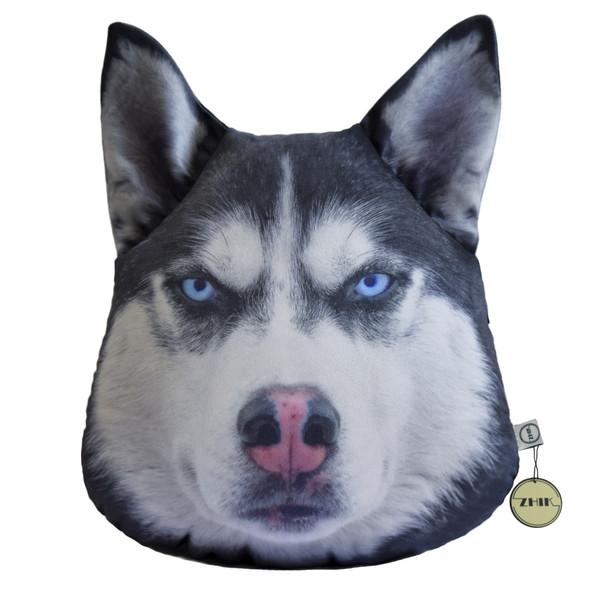 کوسن ژیک طرح سگ هاسکی کد AW-FH210901