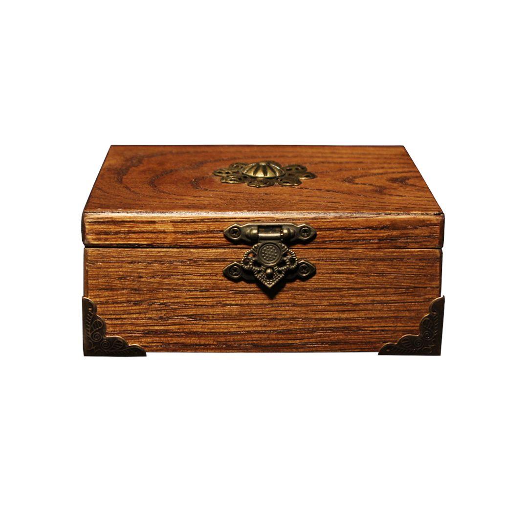 جعبه هدیه چوبی مدل 7